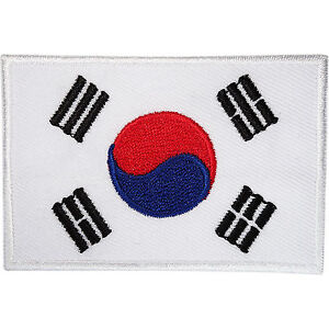 South-Korea-Flag-Patch-Korean-Embroidered-Badge-Iron-Sew-On-Clothes-Jacket-Bag