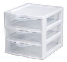 Cosmetic Organizer Mini Unit Drawer Plastic Box Make Up Clear Small Storage