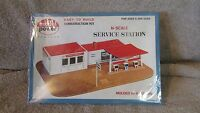 Model Power N Scale Service Station Construction Kit - No. 1503 - (13 T)