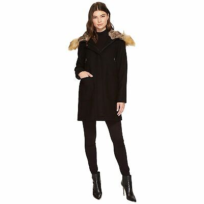 Vince Camuto Womens Wool Coat with Hood