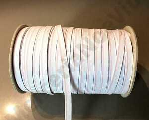 1-metro-elastico-piatto-cucire-Bianco-varie-misure-95-gradi-sarta-per-mascherine