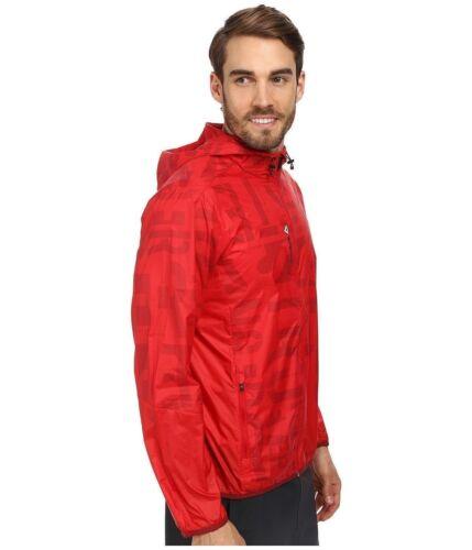 BNWT Mens Reebok DST Red Windbreaker Wind Runner Jacket Crossfit One Series Hood