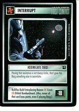 STAR TREK CCG FIRST CONTACT RARE CARD ASSIMILATE THIS