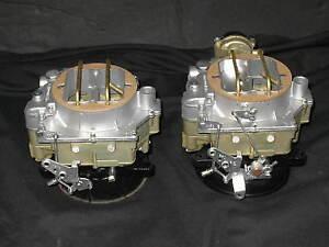 1957-1961-Dual-Quad-Carter-WCFB-Carburetors-Corvette-Chevy-283-245HP-2626s-2627s