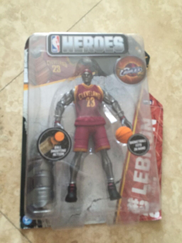 NBA Heroes Lebron,  James Figure Series 1