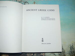 JENKINS-G-K-Ancient-Greek-Coins-The-World-of-Numismatics-First-Edition