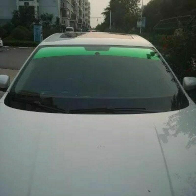 20x150cm Top Front Windshield Foil Driving Driver Sunshade Film Tinting Car