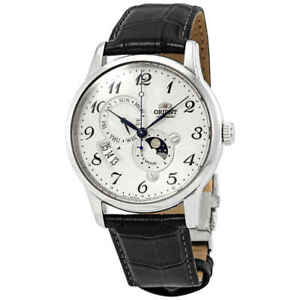 Orient-Classic-Automatic-White-Dial-Men-039-s-Watch-RAAK0003S10B