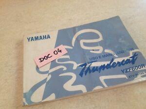 Manuell-Eigentuemer-Yamaha-yzf600r-YZF-600-R-thundercat-des-Besitzers-Handbuch