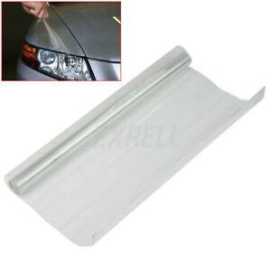Pellicola-Adesiva-Trasparente-Fanali-Fari-Indicatori-Auto-Impermeabile-30x120cm