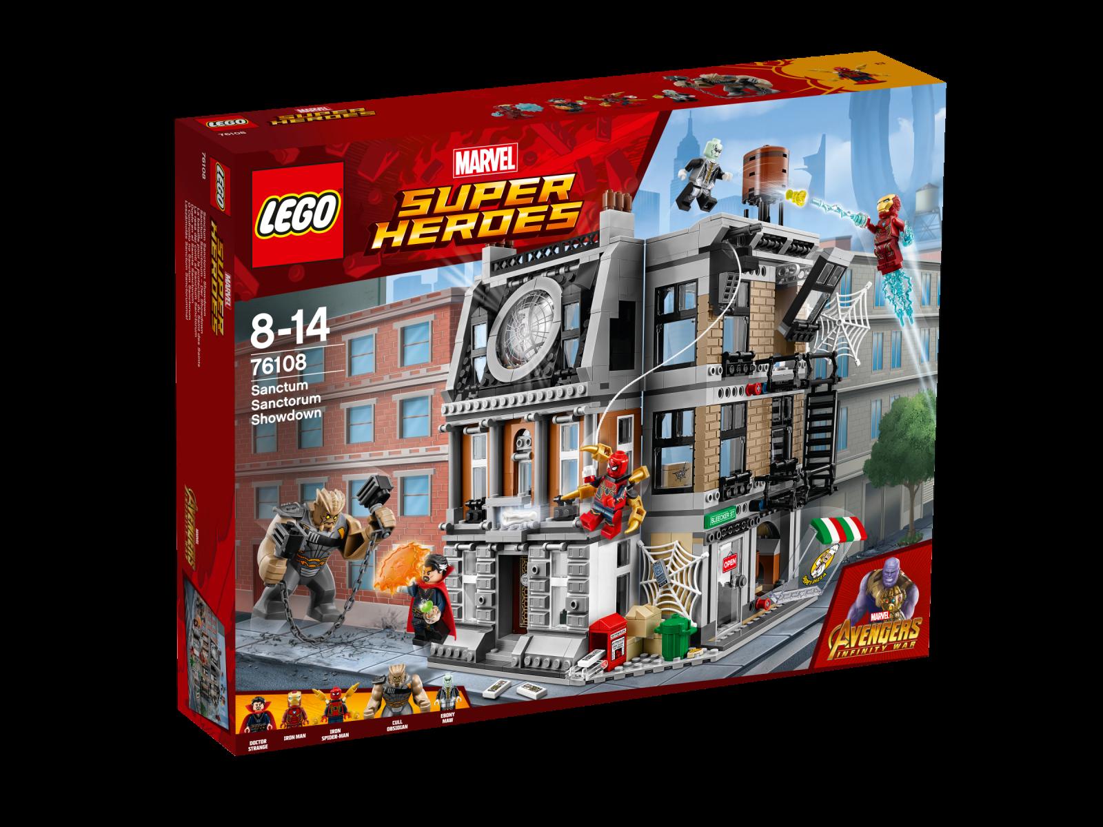 LEGO® Marvel Super Heroes 76108 Sanctum Sanctorum – Der Showdown Showdown Showdown NEU OVP_ NEW 4542ea