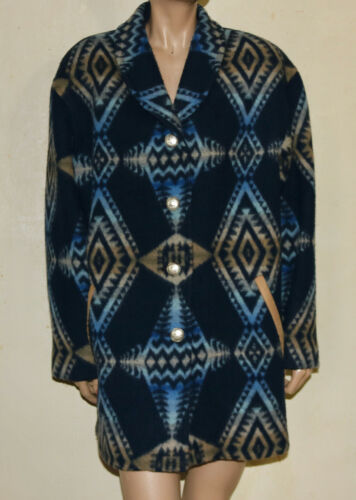 Pendleton wool blanket coat M