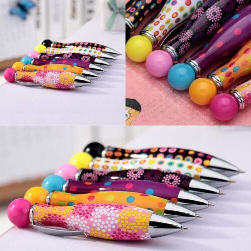 6stk Bunte Cute Mini Bowling Form Ballpoint Kugelschreiber Kinder Stift.Ble F4P4