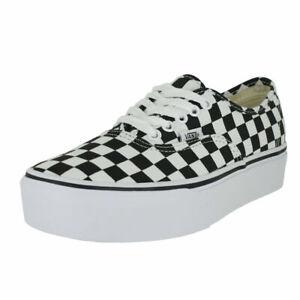vans checkerboard plataforma