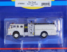 Athearn 1/87 HO Ford C Fire Truck White 92014 PLASTIC SCALE REPLICA