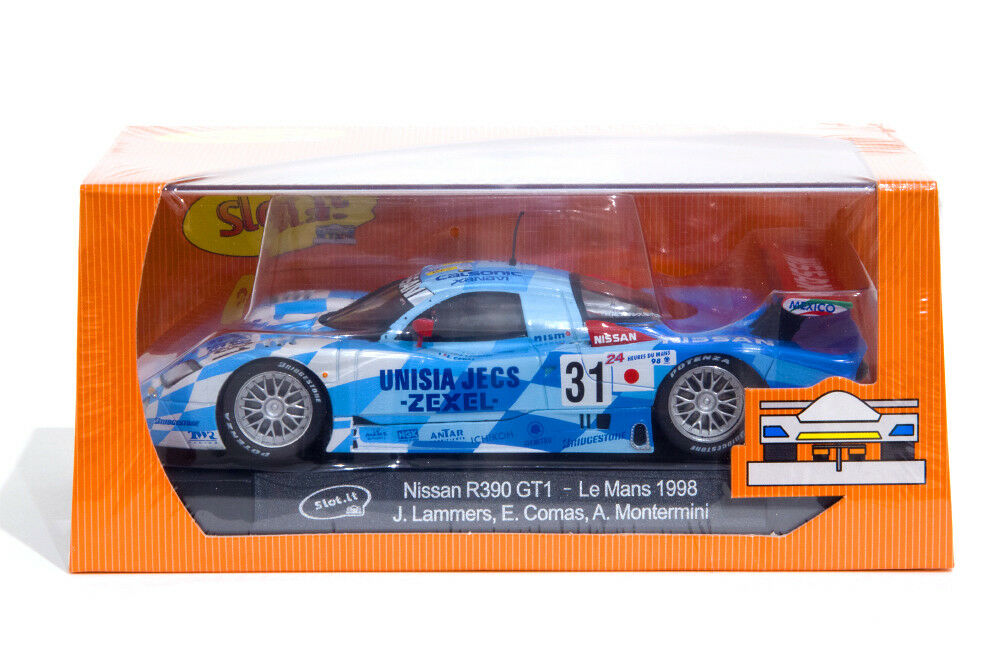 Slot  SICA14e Nissan R390 GT1  31   24h Le Mans 1998   CA14e   NEW SEALED