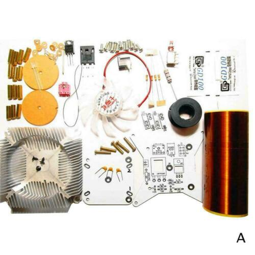 Mini Music Tesla Coil Plasma Speaker Wireless Transmission Solid sound