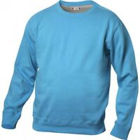 Clique Canton Superior Sweatshirt Turquoise Medium 23 Arm To Arm 30 Long