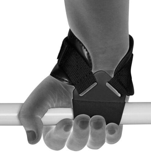 RDX Weight Lifting Reverse Hook Wrist Straps Hand Bar Grip Support Gym Wraps