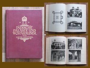 Oscar-Reuther-Indische-Palaeste-und-Wohnbauten-176-Tafeln-Architektur-Indien-AA
