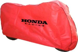 Motorcycle-Bike-Breathable-Dust-cover-Fits-Honda-Blackbird-VFR800-CBR1100xx-Red