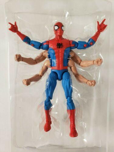 "Marvel Legends 6/"" SIX ARM SPIDER-MAN Hasbro Kingpin Wave New Loose"