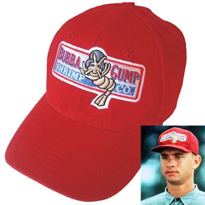 Image is loading Bubba-Gump-Shrimp-Co-Baseball-Cap-Embroidered-Running- 2e277747df3