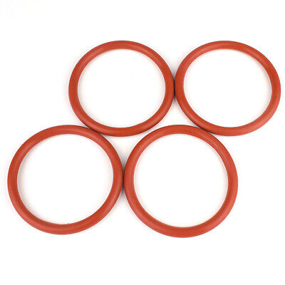 Ø2mm Cross Section Food Grade White Silicone Rubber O-Ring Gasket Sealing Washer