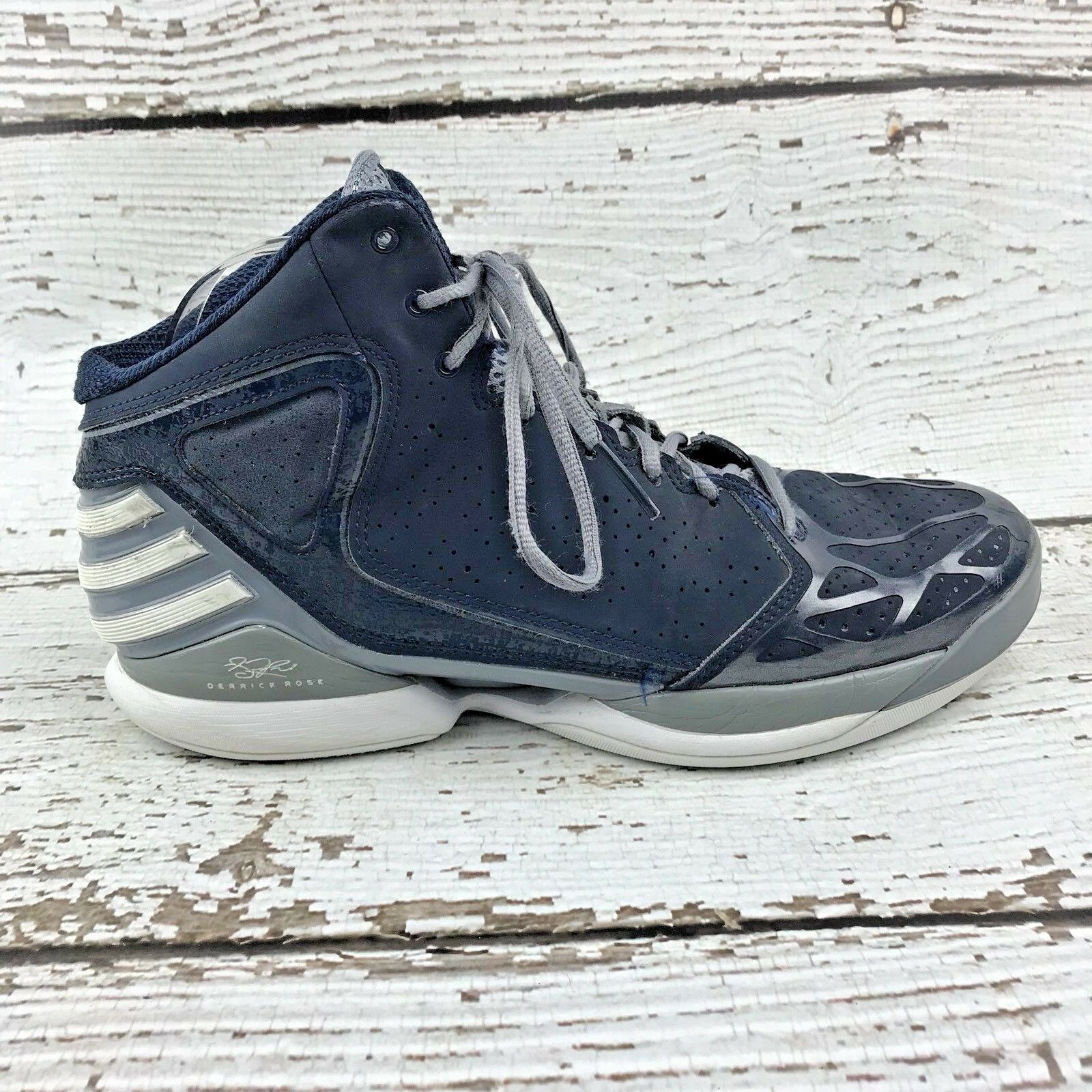 promo code acefc 38511 ... store adidas mens size 10 derrick rose shoes 773 navy basketball shoes  rose sneakers 2012 g56263