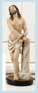 Statua-Cristo-legato-colonna-Presepe-Pasquale-14-cm-in-resina-by-Paben