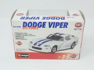 1-43-BBURAGO-METAL-KIT-49200-DODGE-VIPER-GTS-COUPE-039-FONDO-MAGAZZINO-QN3-007
