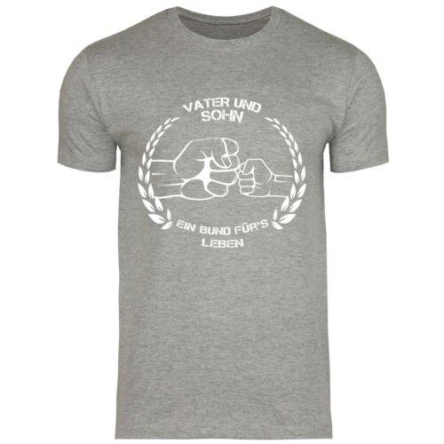 Père et Fils Fête des Pères Cadeau Pour Papa T-shirt hommes