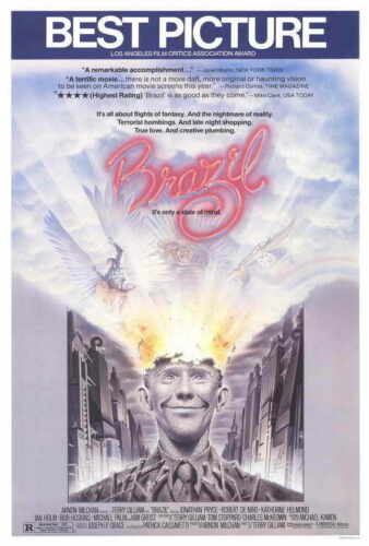 """BRAZIL Movie Poster Licensed-New-USA 27x40/"""" Theater Size"""