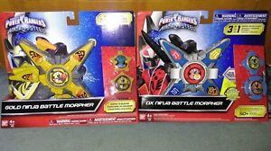 Power Rangers Bandai Ninja Acier Gold Limited Morpher Nouveau