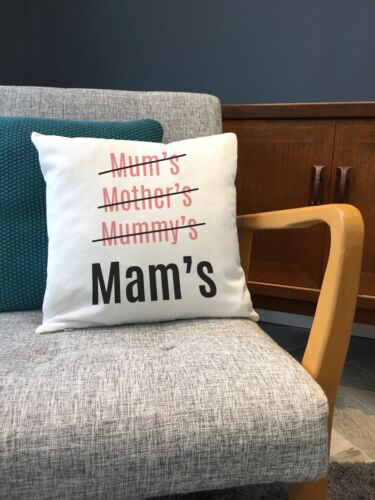 Mothers Day Gift for MAM mère ma Mammy Mère-Grand Gran-Designer Cushion