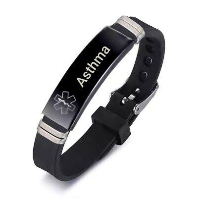 Asthma Asthmatic Medical Alert Bracelet
