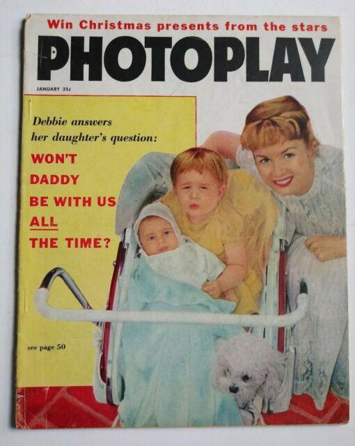 Photoplay Magazine January 1959 Elvis Presley Debbie -6580