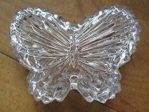 "Small butterfly on heart trinket box 3/"""