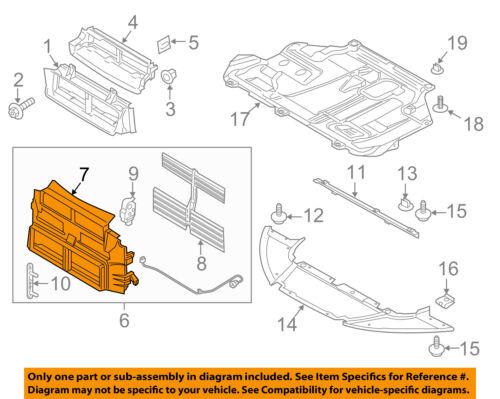 FORD OEM 15-18 Focus Radiator Core Support-Housing BM5Z8B455B
