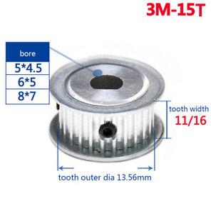3M 40T Timing Belt Pulley Gear Wheel Sprocket 10mm Bore For 10mm Width Belt Qty1