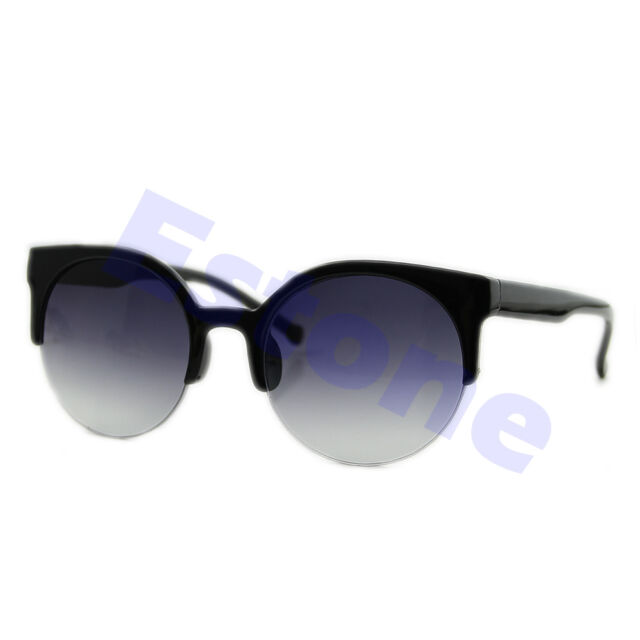 Girl Women Retro Vintage Classic Cat Eye Fashion Shades Frame Sunglasses Eyewear