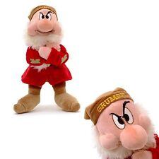 NUOVO Ufficiale Disney Snow White & THE SEVEN DWARFS 33cm Grumpy Morbido Peluche Giocattolo