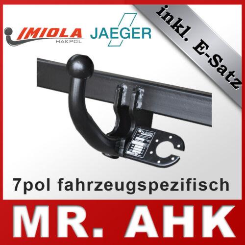 E-Satz VW Passat B6 3C Limo /& Kombi 05-10 Anhängerkupplung AHK starr 7pol spe