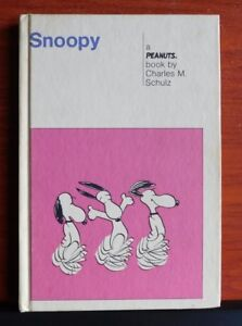 Snoopy-Peanuts-by-Charles-Schulz-1958-Weekly-Reader-children-039-s-book