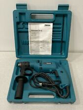 Makita Hp1501 5a 115v 916 Corded Hammer Drill With Case Amp Accessories Tested