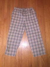 Burberry London Check Pajama Pants Size Medium M