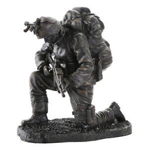 6-034-Praying-Soldier-Statue-Military-Army-Marines-Navy-Sculpture-Warfare