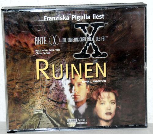 1 von 1 - 3 CD-Box - Kevin J. Anderson - Akte X RUINEN - Gelesen von Franziska Pigulla