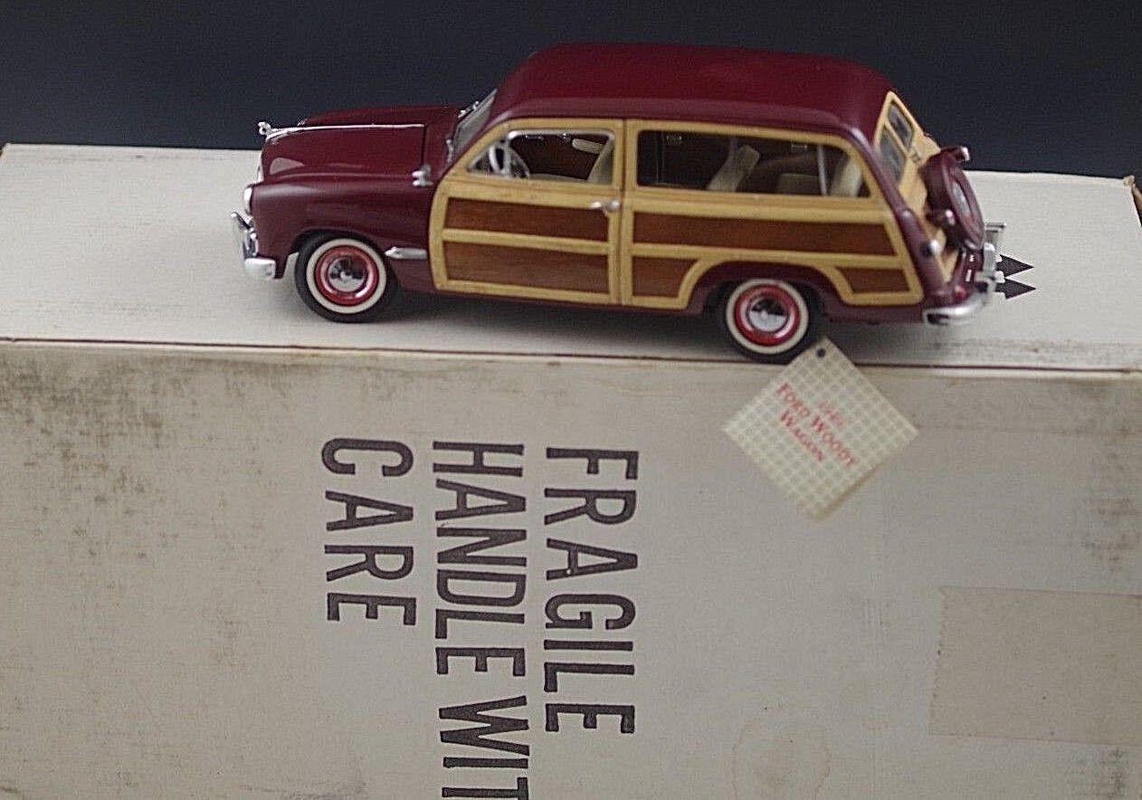 Franklin mint 1949 ford woody wagen die-cast 24 skala mib
