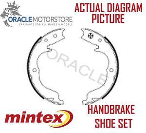 MFR621 MINTEX Brake Shoe Set parking brake rear